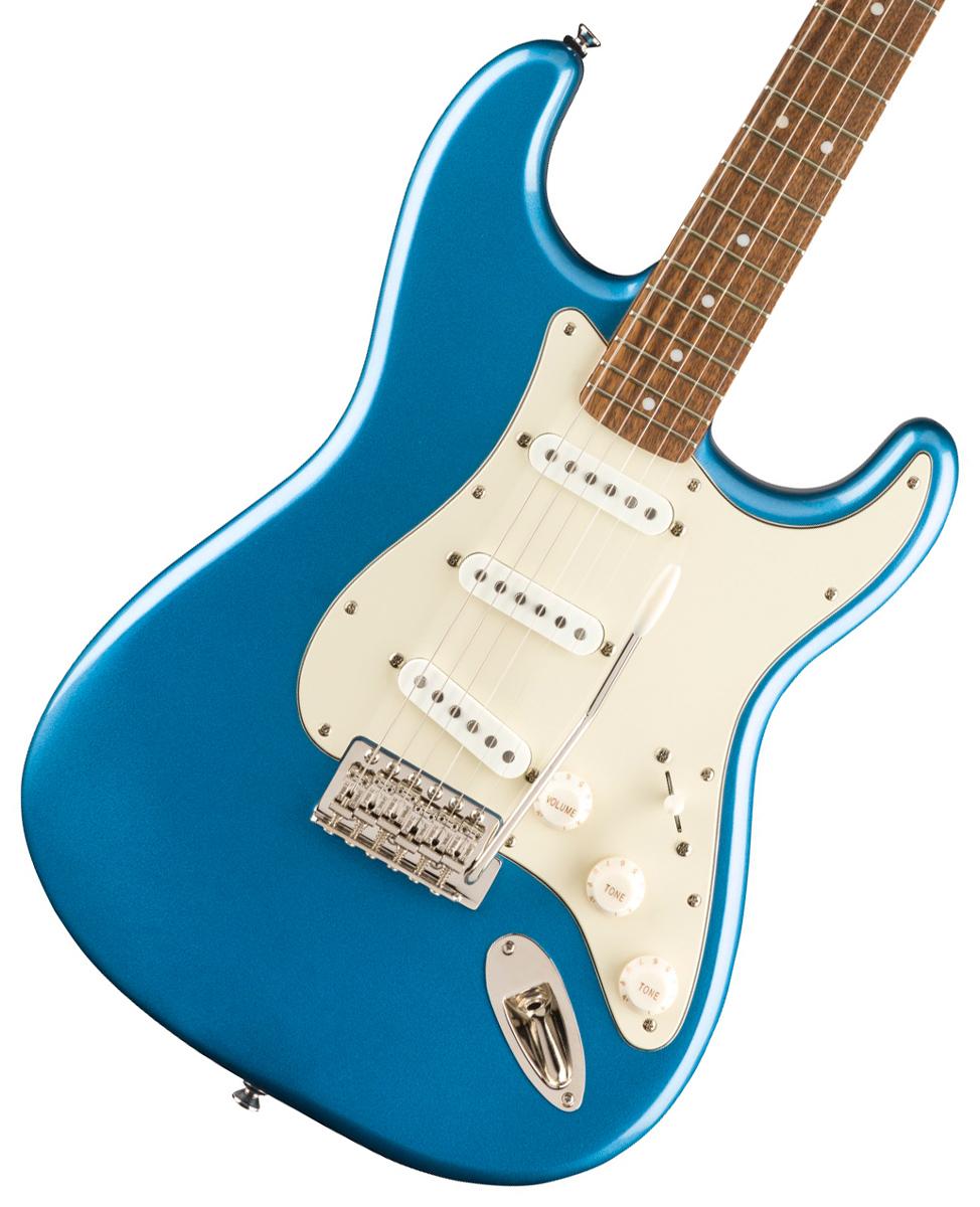 【タイムセール:29日12時まで】Squier by Fender / Classic Vibe 60s Stratocaster Laurel Fingerboard Lake Placid Blue スクワイヤー《純正バレットチューナープレゼント!/+621153790》
