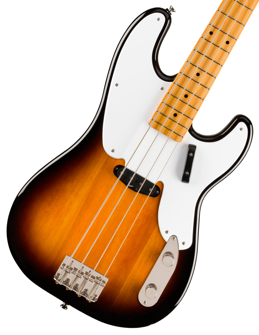 Squier by Fender / Classic Vibe 50s Precision Bass Maple Fingerboard 2-Color Sunburst スクワイヤー