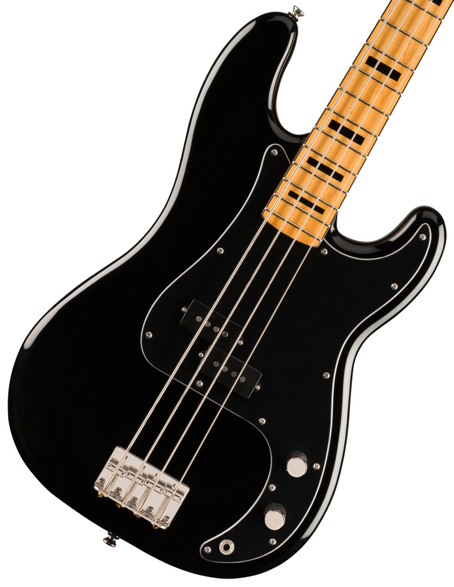 Squier by Fender / Classic Vibe 70s Precision Bass Maple Fingerboard Black スクワイヤー