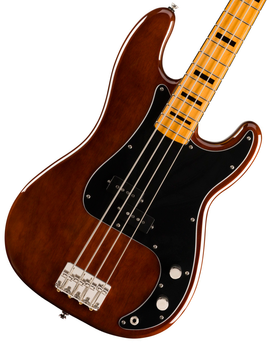 Squier by Fender / Classic Vibe 70s Precision Bass Maple Fingerboard Walnut スクワイヤー