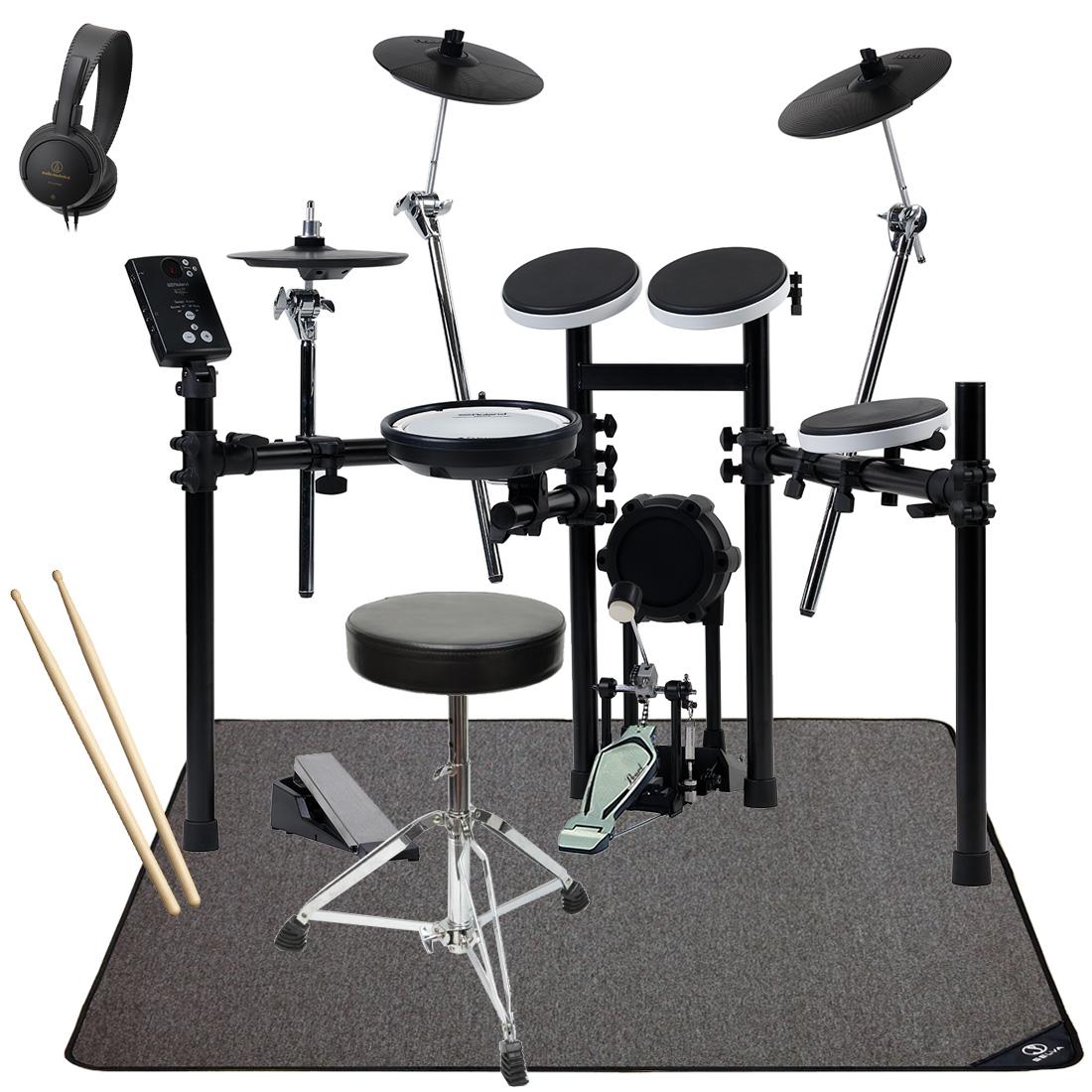 【Rolandキャッシュバック3000円対象】Roland / TD-E1 ローランド 電子ドラム オリジナル・スターターパック マット付き【YRK】【BLKFRD】