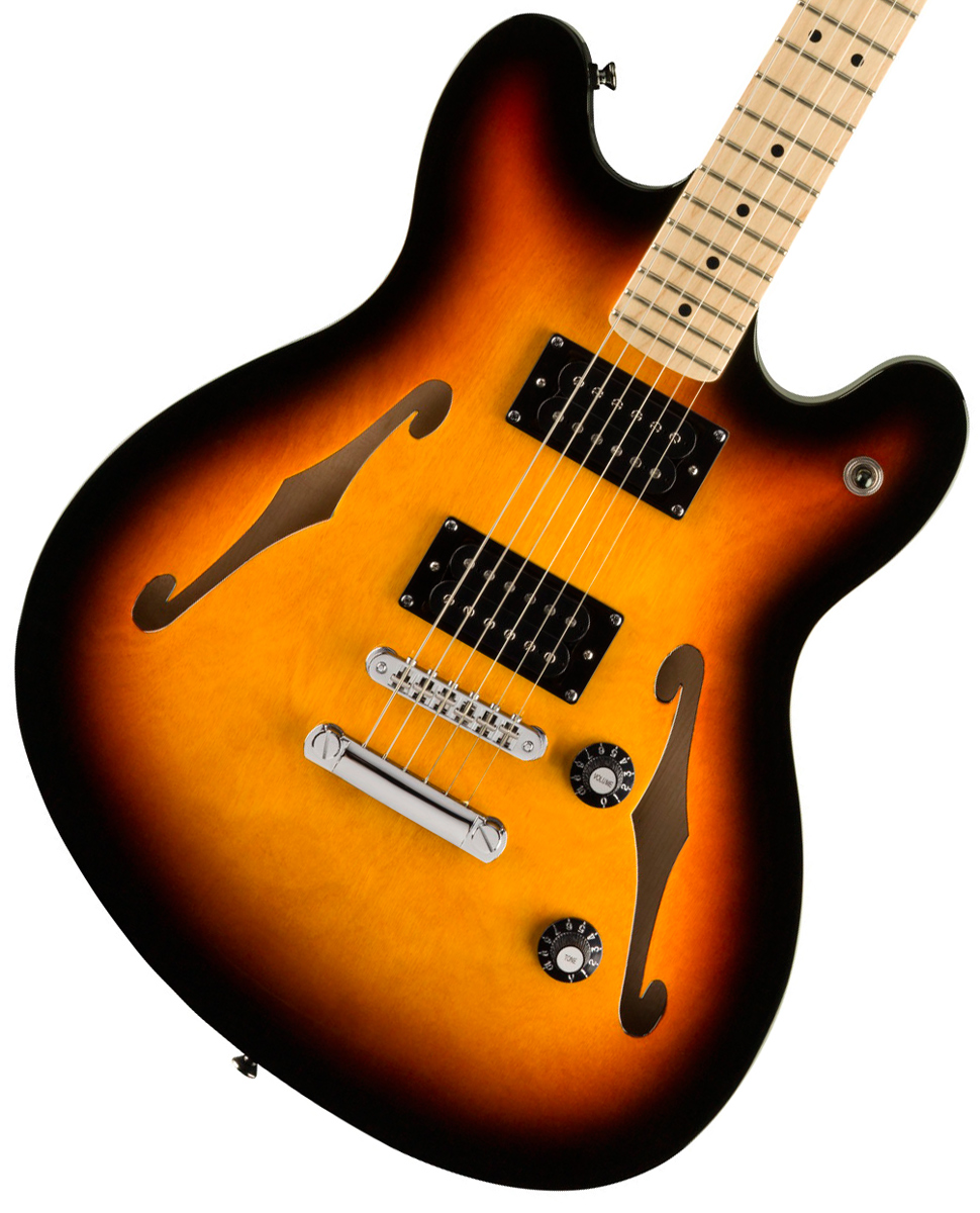 <title>Squier by Fender Affinity Series Starcaster Maple Fingerboard 3-Color Sunburst スクワイヤー《純正弦プレゼント +2306313125903》 アウトレット</title>