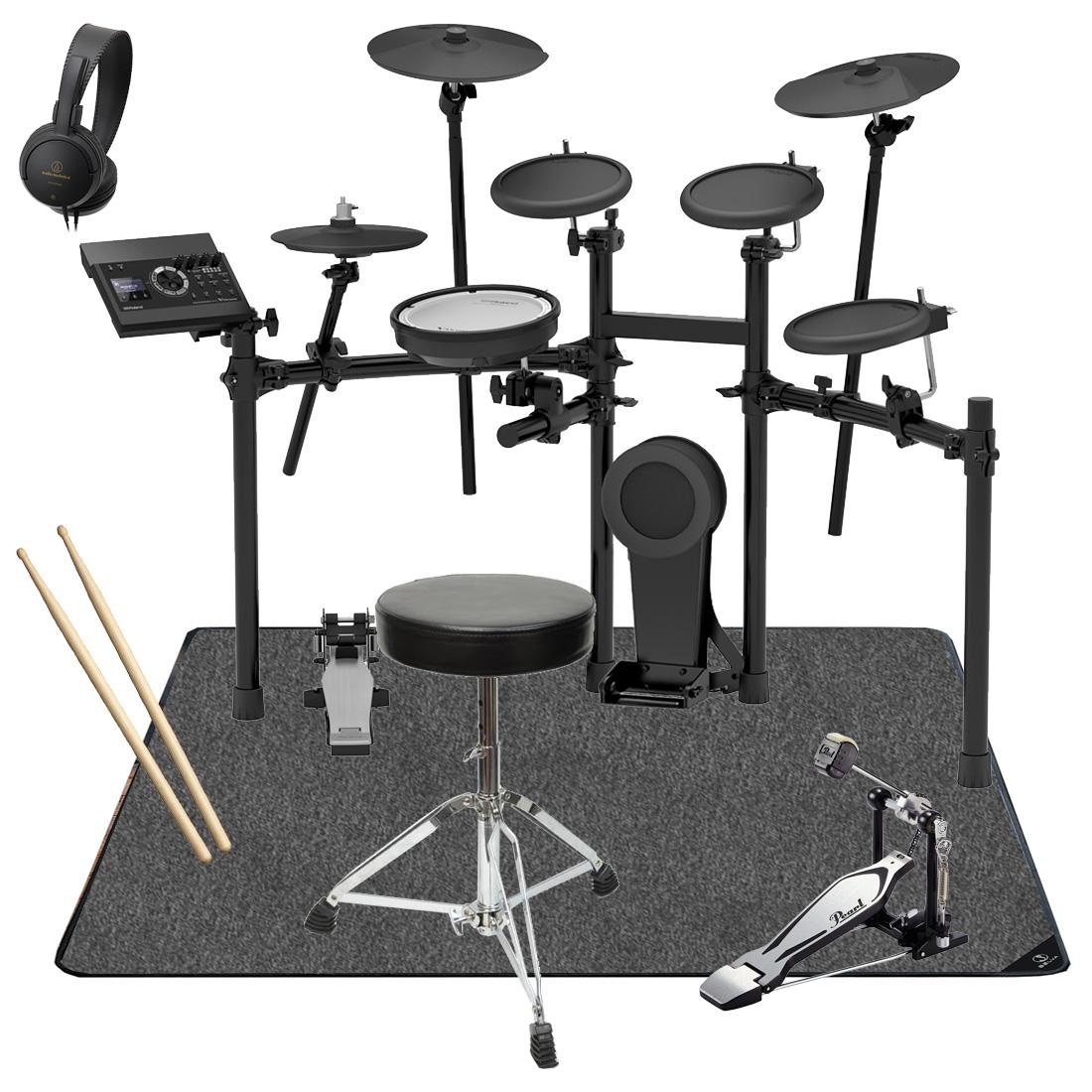【Rolandキャッシュバック5000円対象】Roland 電子ドラム TD-17K-L-S オリジナルスターターパック マットセット【YRK】