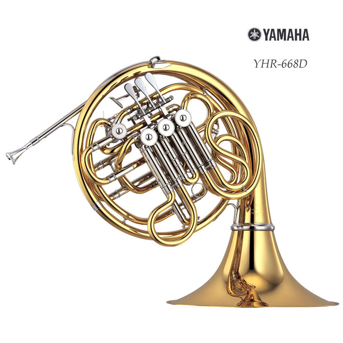YAMAHA / YHR-668D ヤマハ フレンチホルン フルダブル