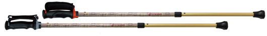 カイノス 杖 ステッキ もっと安心2本杖 【シナノ】 ウォーキングステッキ