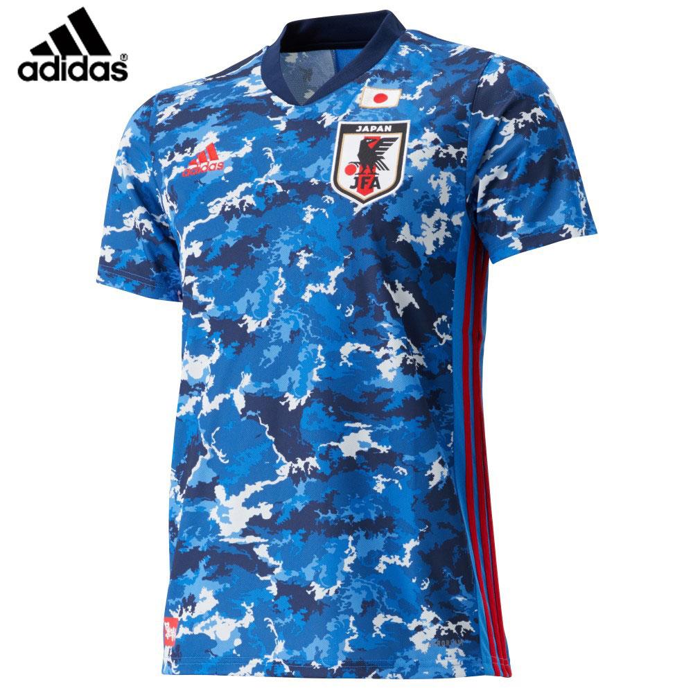 【即日発送】adidas [アディダス] サッカー日本代表 2020 レプリカユニフォーム ホーム 半袖 ADJ-GEM11
