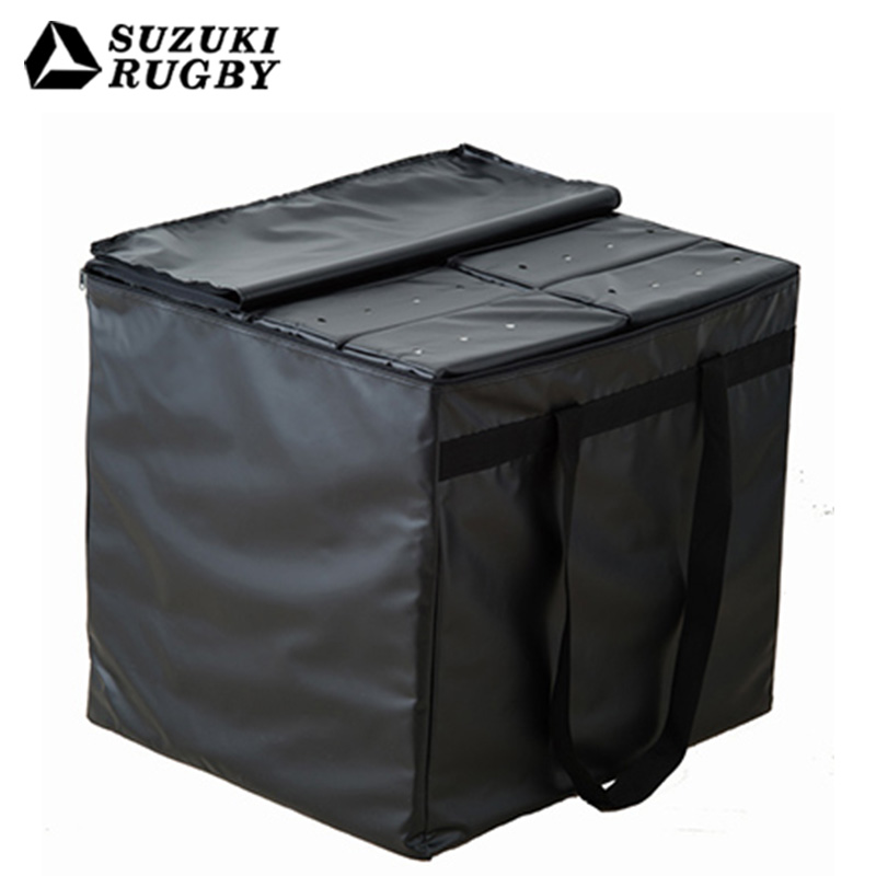 【8月1日限定!エントリーでポイントアップ!!】SUZUKI スズキ ラグビー コンタクトシールド8個セット 収納バッグ付 (要在庫確認) (SD-9413)