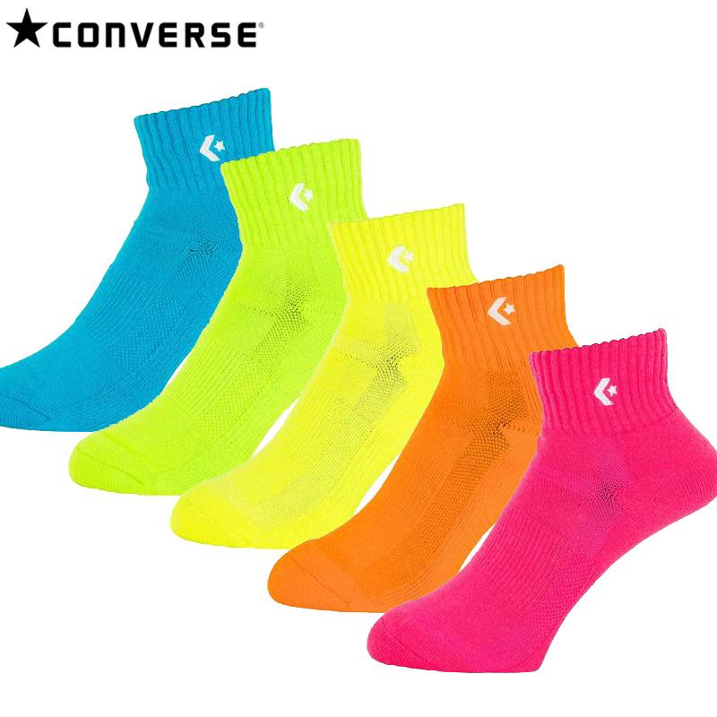 コンバース 送料無料限定セール中 カラーソックス 即納 CONVERSE 1S ソックス カラーアンクルソックス バスケ 靴下 バーゲンセール CB161003