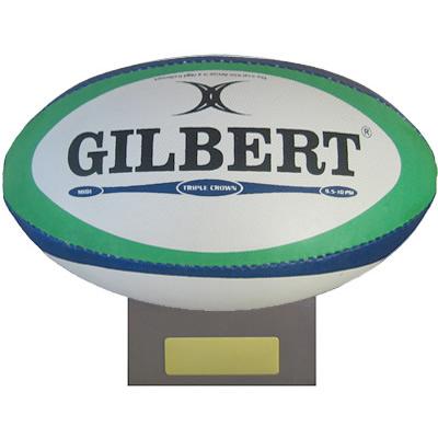 ギルバート 記念サインボール ミニボール ラグビーボール GILBERT ミディボール 商店 GB-9231 台付き 安全