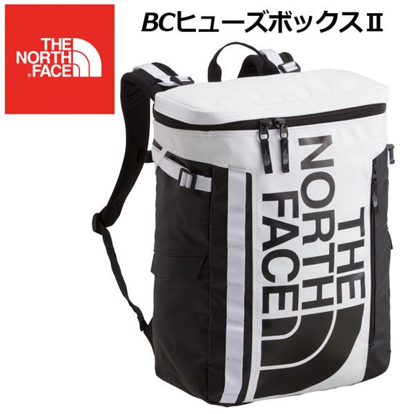 ノースフェイス 【THE NORTH FACE】BCヒューズボックス2 BC FUSE BOX 2 NM81817 WK ホワイト×ブラック 2018秋冬 (ディパック/バックパック/リュックサック/通学バッグ/ボックス型バック) 【大人気】 【おすすめ】