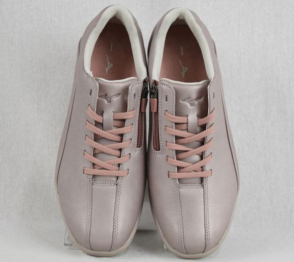【2019 春夏MODEL】 ミズノ 【MIZUNO】 レディース ウォーキングシューズ 幅広 スーパーワイドモデル LD40V SW B1GD191864  (ウィメンズ/女性用/LADIES/WALKING/歩く/ファスナー付き/革靴/幅広4E/スーパーワイド設計)