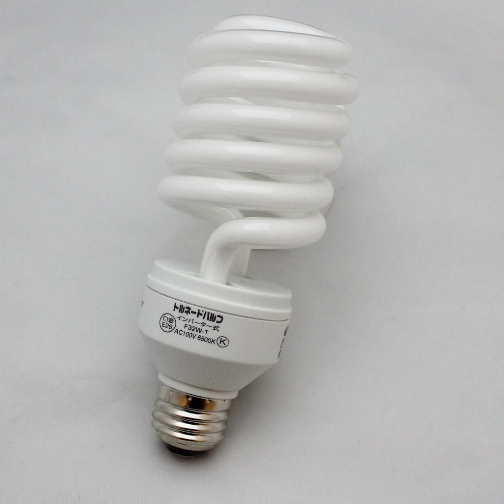 ★送料無料★ 日動工業 トルネードバルブ 32W型蛍光灯 F32W-T 30個入