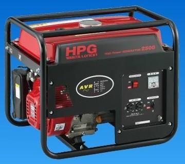 ワキタ 発電機 HPG2500 50Hz/60Hz