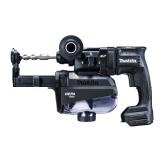 マキタ 18V 18mm充電式ハンマドリル HR182DZKVB 本体+集じんシステム(コンクリート穴あけ専用)のみ(ケース付/バッテリ・充電器別売) SDSプラスシャンク