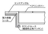 片岡産業 サウンドルース(騒音防止用パッキン) U字溝用L40用 KSLP-40 2本セット
