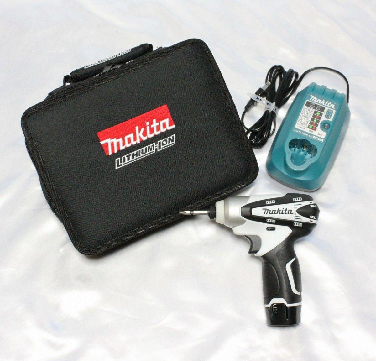 makita マキタ 充電式インパクトドライバ 10.8V TD090DWSPW
