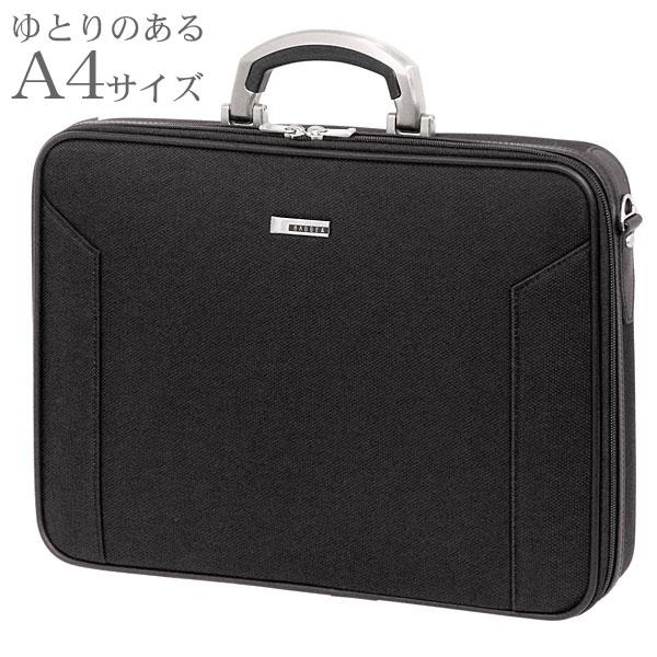 ビジネスバッグ BAGGEX ORIGIN ソフトアタッシェケース40 メンズ ブラック A4サイズ対応 24-0282
