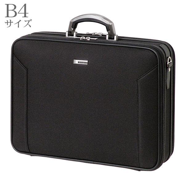 BAGGEX ORIGIN ソフトアタッシェケース43 ビジネスバッグ メンズ ブラック B4サイズ対応 24-0283