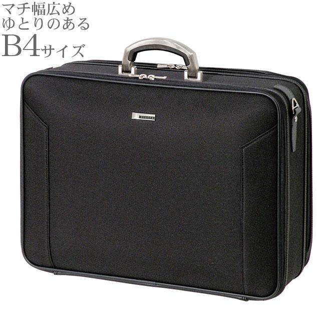 BAGGEX ORIGIN ソフトアタッシェケース46 ビジネスバッグ メンズ ブラック B4サイズ対応 24-0285