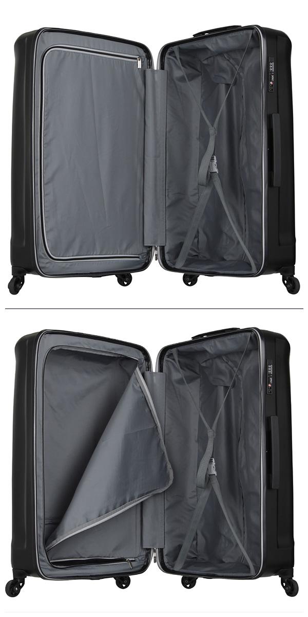 スーツケース ハードケース LEGEND WALKER 5201 58 Mサイズ 中型 56L 3 5泊wX8n0OkP