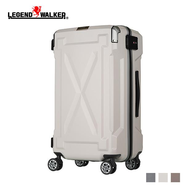 スーツケース ハードケース LEGEND WALKER 6304-61 Mサイズ 中型 56L 3-5泊