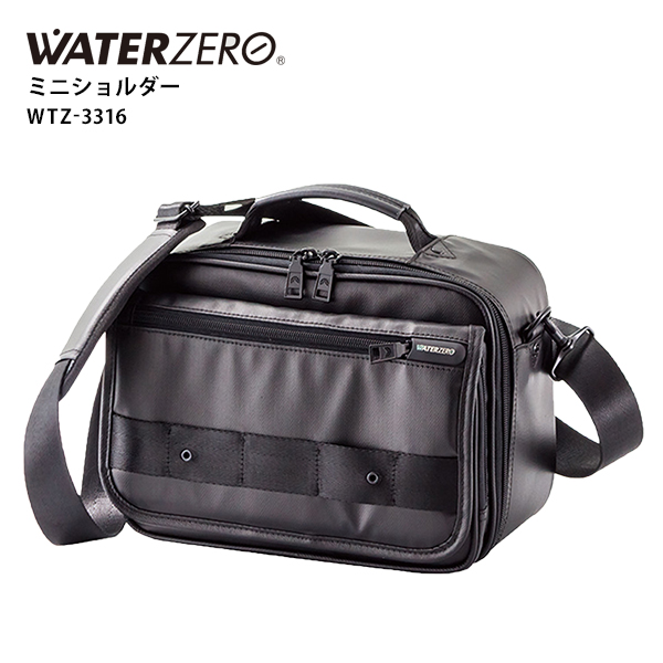 ショルダーバッグ WATER ZERO ミニショルダー アジアラゲージ 防水 軽量 メンズ ギフト