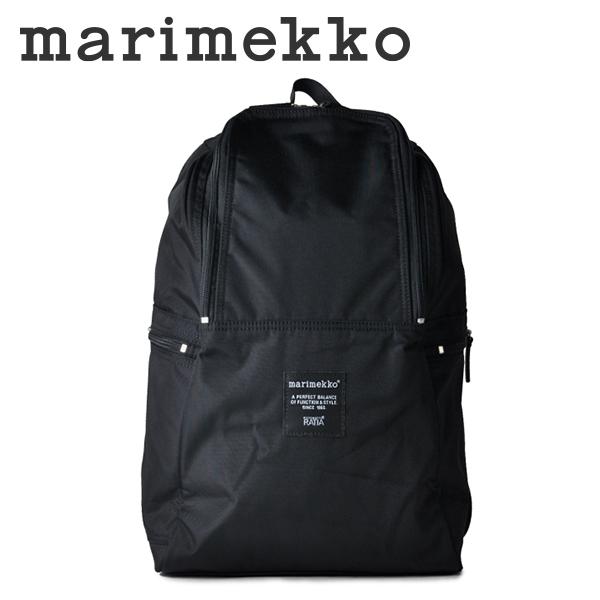 marimekko METRO リュックサック メンズ/レディース ブラック 039972