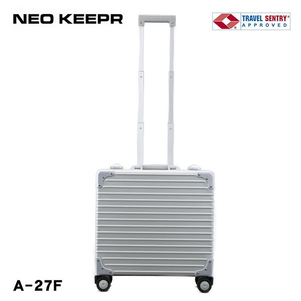スーツケース ハードケース NEOKEEPR A-27F Sサイズ 小型 23L 1-2泊 アルミ TSAロック 4輪