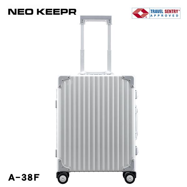 スーツケース ハードケース NEOKEEPR 4輪 TSAロック 30L A-38F アルミ TSAロック 4輪