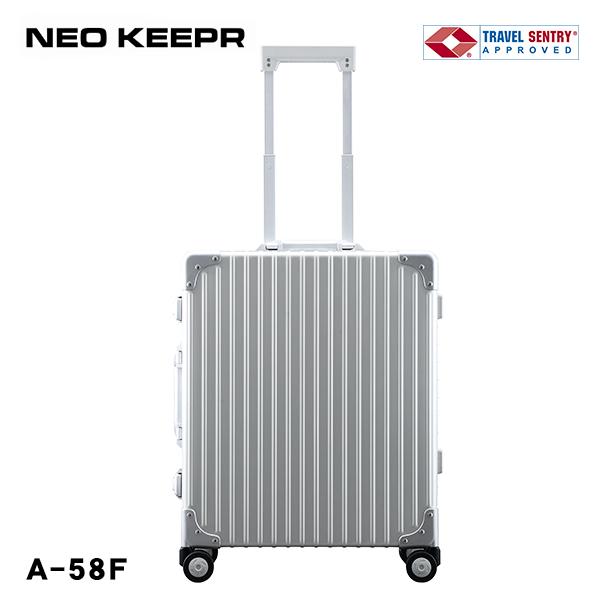 スーツケース ハードケース NEOKEEPR 4輪 TSAロック 45L A-58F アルミ TSAロック 4輪