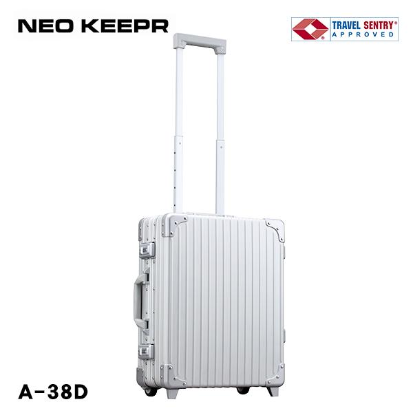 スーツケース ハードケース NEOKEEPR 2輪 TSAロック 30L A-38D アルミ TSAロック 2輪