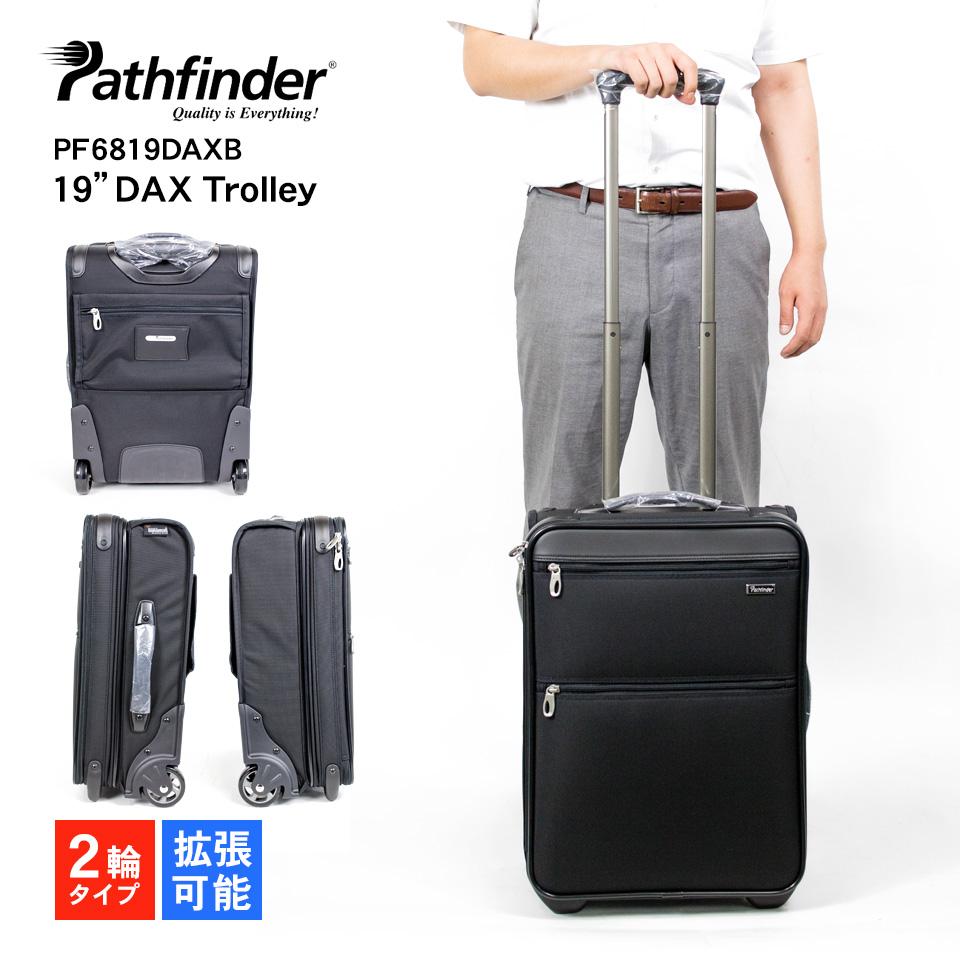 """ビジネスキャリー 2輪 パスファインダー pathfinder レボリューションXT RevolutionXT 19""""DAX Trolley PF6819DAXB"""
