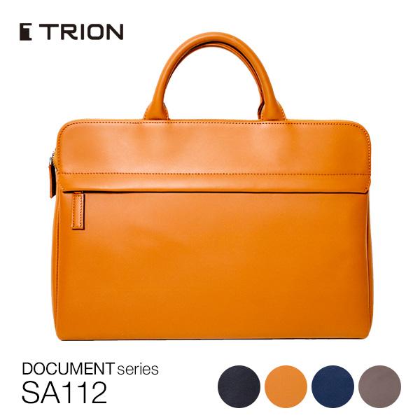 ビジネスバッグ TRION SA112 メンズ 革 ブリーフケース グラブレザー 全4色 【2006ss】