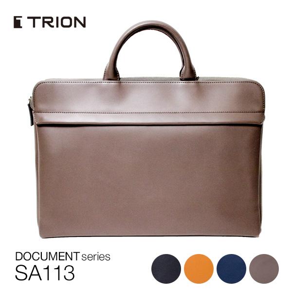 ビジネスバッグ TRION SA113 メンズ 革 ブリーフケース グラブレザー 全4色 【2006ss】