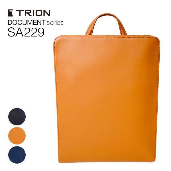 TRION SA229 バックパック DOCUMENT メンズ グラブレザー 全4色 【2006ss】