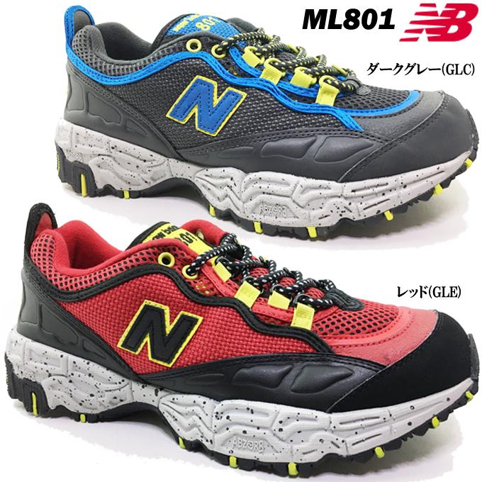 new balance ニューバランス ML801 メンズ スニーカー トレイルランニング トレッキング 靴 シューズ ウォーキング スポーツ 不整地 山歩き 散歩 デイリー 男性 紳士 男子