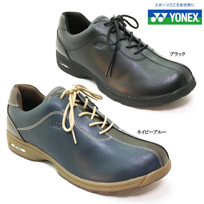 YONEX/ヨネックス パワークッション SHW MC81メンズ ウォーキングシューズ コンフォートシューズ 靴 撥水 防水 ファスナー 軽量 快適 歩きやすい 脱ぎやすい 履きやすい 散歩 旅行 男性 紳士
