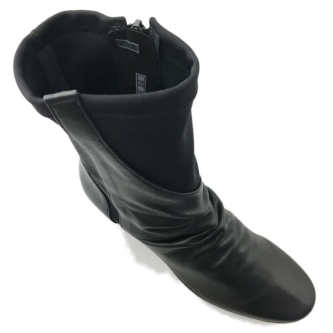 madras City Golf GFL5260 マドラス シティゴルフ レディース ロングブーツ 靴 シューズ 天然皮革 本革 ストレッチ素材 異素材コンビ ウェッジソール 安定感 日本製 クッション性 ウェッジソール 幅広 3E EEE 日本製 女性 婦人