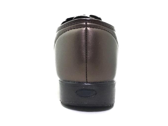 くつろぎエルダー 327 婦人・介護・リハビリ 軽量 クッション性 ソフト合皮 幅広 4E 日本製 靴 シューズ カジュアル ワイドラスト ストレッチ ファスナー サイドゴア クッション性 反射材付き 女性 送料無料hxsQdrtC
