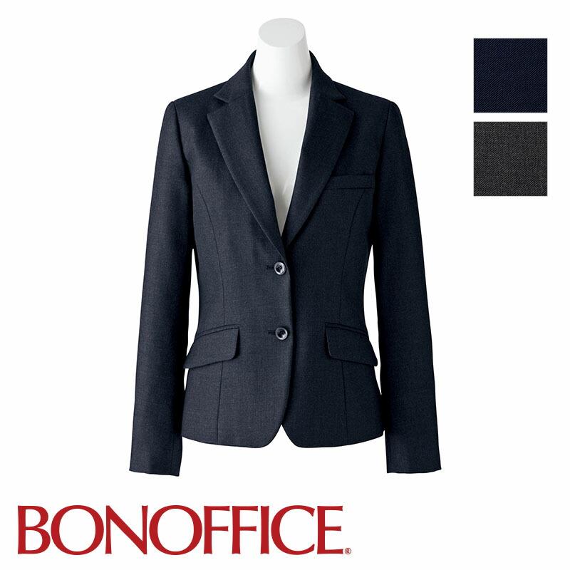 高級感あるオフィスウェア 人気 ジャケット 事務服 AJ0241BONOFFICE ボンオフィス BONMAX フォーマル ボンマックス ユニフォーム 商品追加値下げ在庫復活 制服 受付
