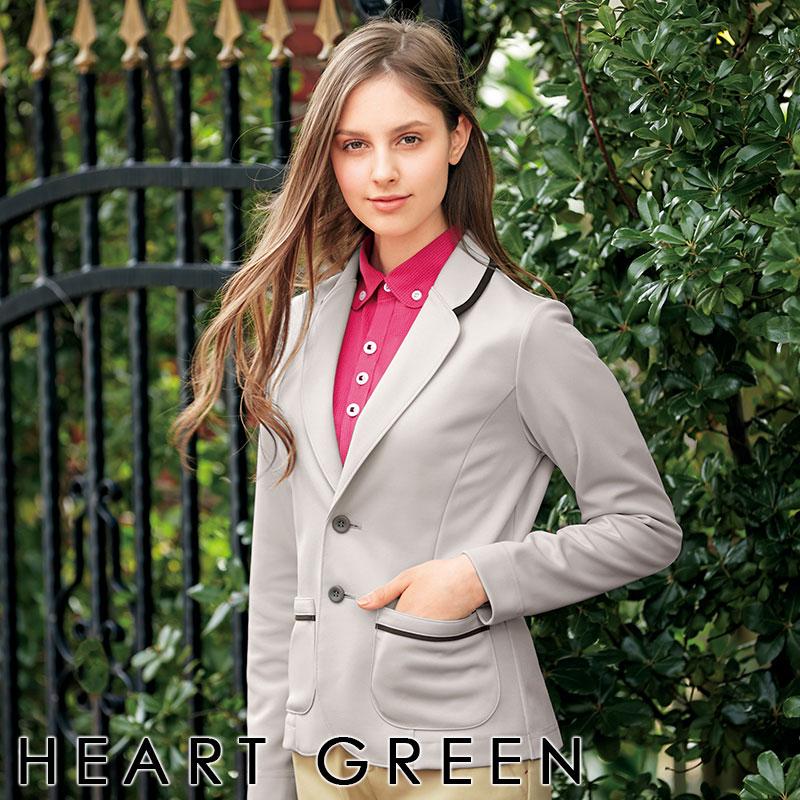 ジャケット HM-2601 全3色 男女兼用 ユニセックス 介護ユニフォーム 介護ウェア ケアウェア HEARTGREEN ハートグリーン KARSEE カーシーカシマ 制服