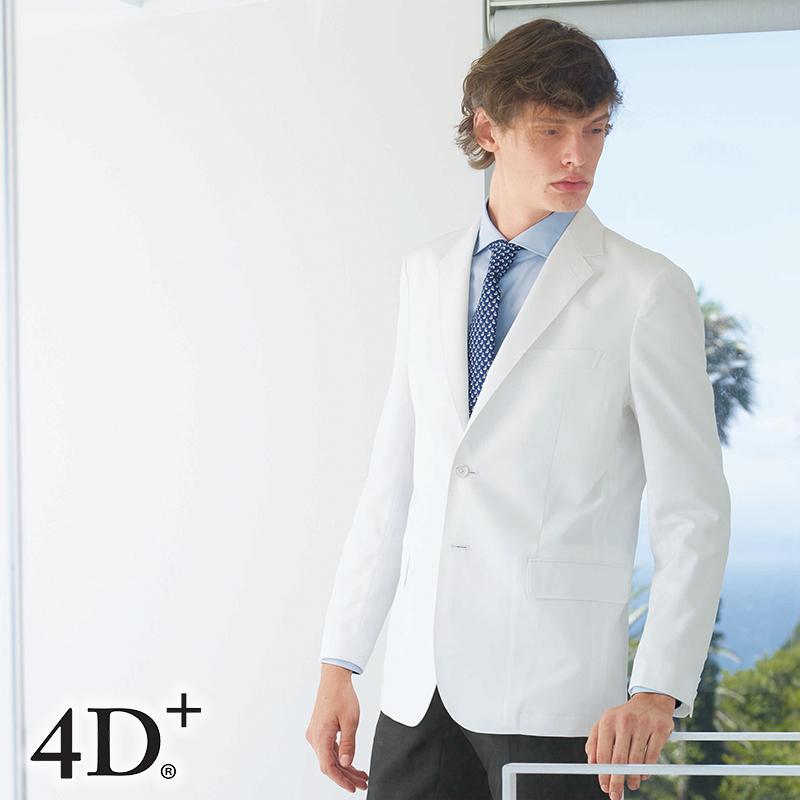 ナースウェア テーラードジャケット [男性用] FD-40804D+ フォーディープラス Naway ナウェイ Seed℃ シードシー NAGAILEBEN ナガイレーベン メンズ ドクターウェア 医療 白衣 ユニフォーム
