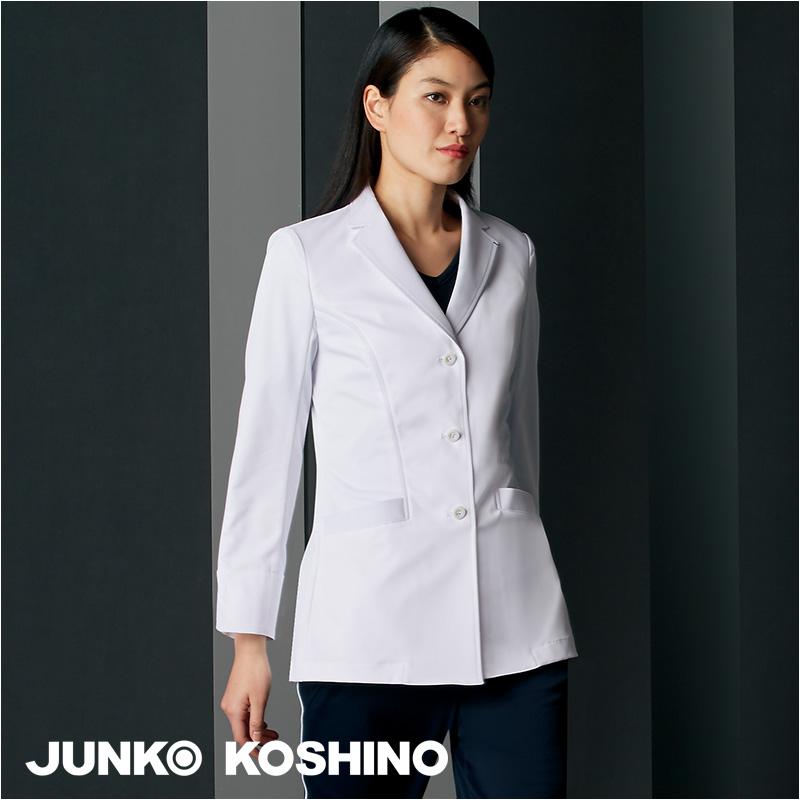 医療白衣 ドクターコート [女性用] JK114JUNKO KOSHINO ジュンココシノ MONTBLANC 住商モンブラン 看護師 クリニック ユニフォーム