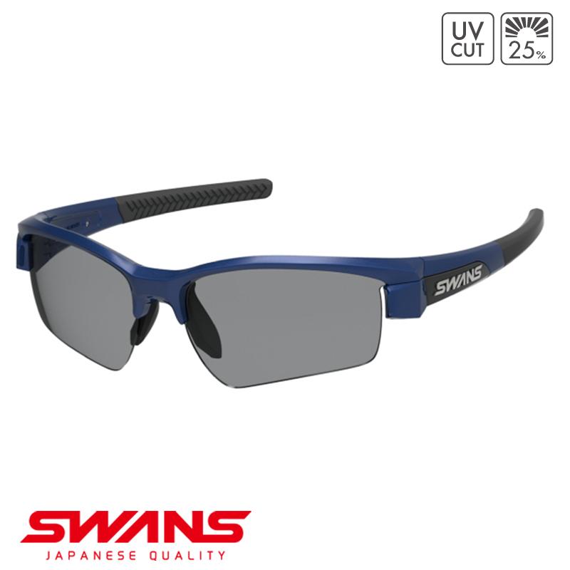 スポーツサングラス LISIN-0001 MEBL SWANS スワンズ LION SIN ライオンシン ハーフリム ゴルフ 釣り スポーツ アウトドア