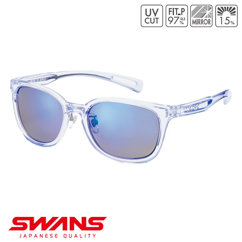 スポーツサングラス PW-1051 CLA SWANS スワンズ Df.pathway ディーエフ・パスウェイ フルリム ゴルフ 釣り スポーツ アウトドア