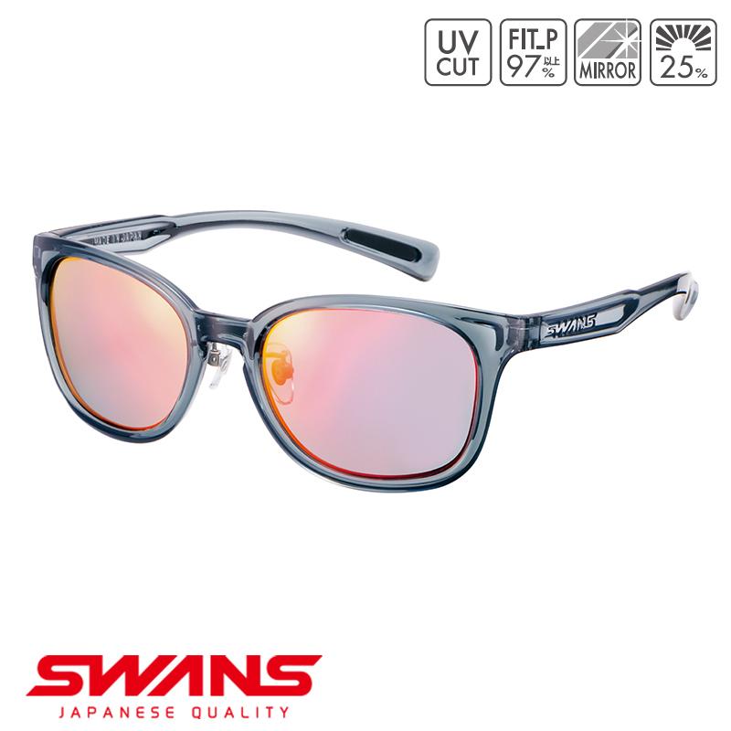 スポーツサングラス PW-1751 CSK SWANS スワンズ Df.pathway ディーエフ・パスウェイ フルリム ゴルフ 釣り スポーツ アウトドア