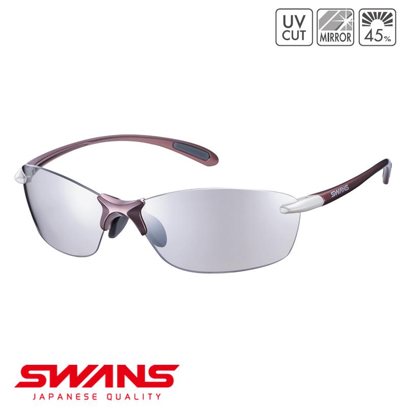 スポーツサングラス SALF-0712 スポーツ COP アウトドア SWANS スワンズ Airless-Leaf fit fit エアレスリーフフィット フレームレス ゴルフ 釣り スポーツ アウトドア, アクセサリーショップ ミニョン:116f67bf --- sunward.msk.ru