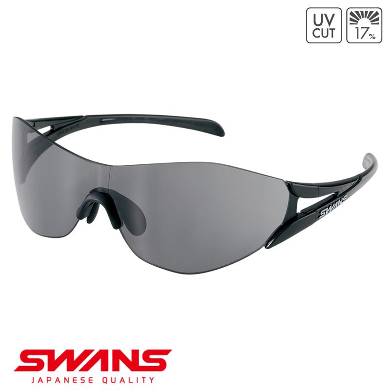 スポーツサングラス SOU2-0001 BK SWANS スワンズ SOU2 ソウ2 フレームレス ゴルフ 釣り スポーツ アウトドア