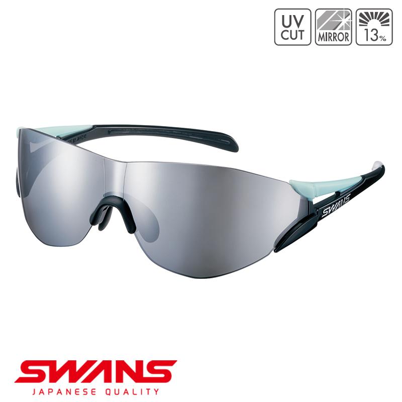 スポーツサングラス SOU2C-0701 TUQ SWANS スワンズ SOU2-C ソウ2シーフレームレス ゴルフ 釣り スポーツ アウトドア