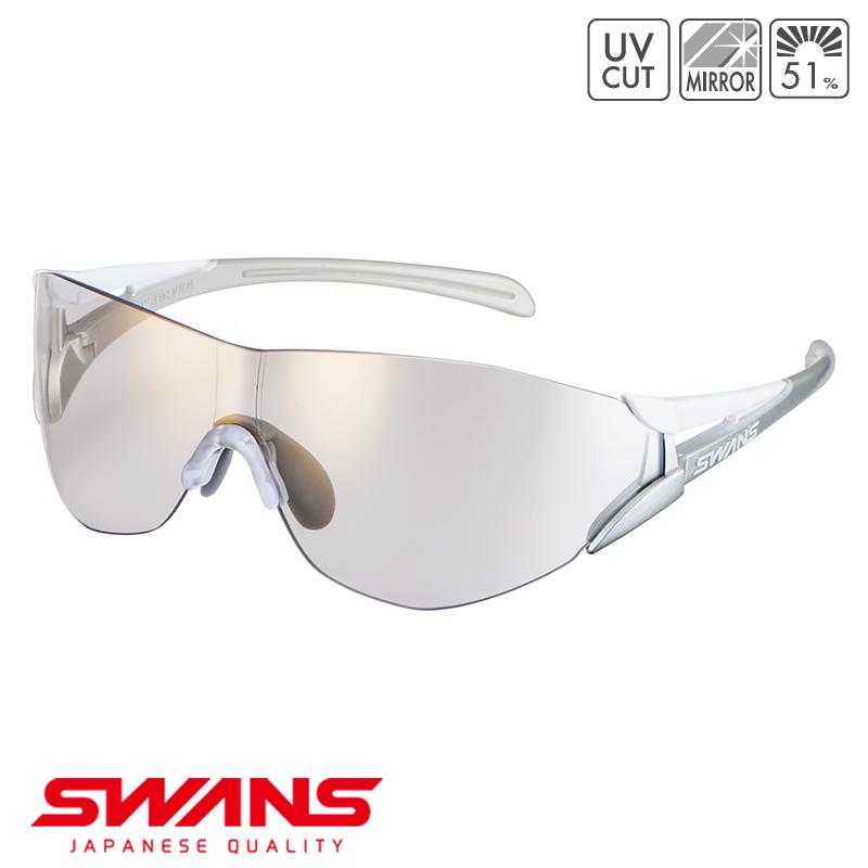 スポーツサングラス SOU2C-0812 W SWANS スワンズ SOU2-C ソウ2シーフレームレス ゴルフ 釣り スポーツ アウトドア